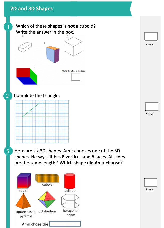SATs Companion Maths Test Ks2